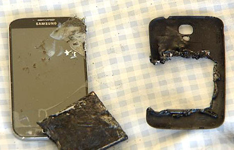 More People Report Their Samsung Galaxy S4 Catching Fire